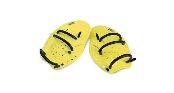 Zoggs Matrix Hand Paddles geel M